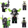 LEGO Nexo Knights Minifigures - Berserker with weapon and shield