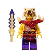 LEGO Ninjago Minifigures - Zugu with Skull Sword