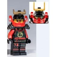 LEGO Ninjago Minifigures - Nya - Head Mask, Pearl Dark Gray Armor