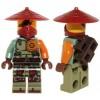 LEGO Ninjago Minifigures - Ronin - Asian Hat (70735)