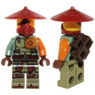 LEGO Ninjago Minifigures - Ronin - Asian Hat (70735)