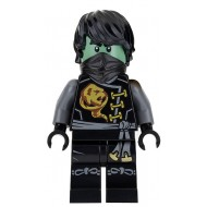 LEGO Ninjago Minifigures - Cole - Skybound, Ghost, Hair