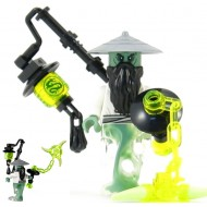 LEGO Ninjago Minifigures - Master Yang with lantern and weapon