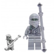 LEGO Ninjago Minifigures - Ghost Student (70590) with weapon