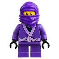 LEGO Ninjago Minifigures - Lil' Nelson (Purple Ninja)