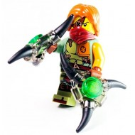 LEGO Ninjago Minifigures - Ronin with Ninja Weapon