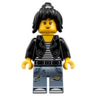The LEGO Ninjago Movie - Nya - Leather Jacket and Jeans High School Outfit (70607)