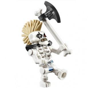 LEGO Ninjago Minifigures - Nuckal (Legacy) punk hairstyle