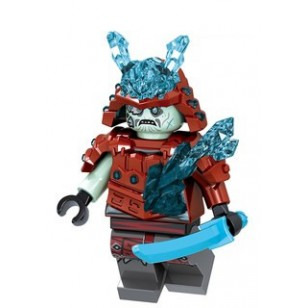 LEGO Ninjago Minifigures - Blizzard Warrior / Samurai Red
