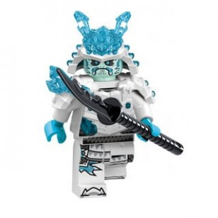 LEGO Ninjago Minifigures - Ice Emperor (Zane) with weapon Naginata 70678