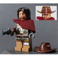 LEGO Overwatch Minifigures - McCree with hair and gun