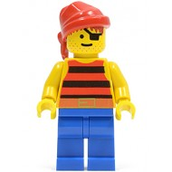LEGO Pirates Minifigures - Classic Pirate with Red Bandana