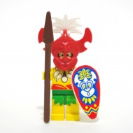 LEGO Islander, King Kahuka with Weapon, Shield