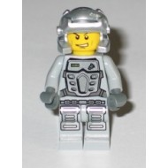 LEGO Power Miners Minifigures - Power Miner - Doc, Gray Outfit