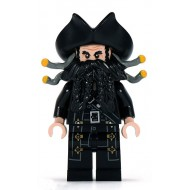 LEGO Pirates of the Caribbean Minifigures - Blackbeard