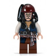 LEGO Pirates of the Caribbean Minifigures - Captain Jack Sparrow Cannibal