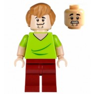LEGO Scooby-Doo Minifigure - Shaggy - Closed Mouth