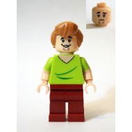 LEGO Scooby-Doo Minifigure - Shaggy - Open Mouth Grin