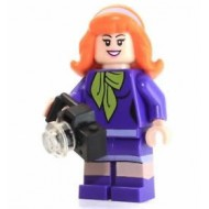LEGO Scooby-Doo Minifigure - Daphne with camera 75903 75904