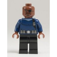 LEGO Super Heroes Minifigures - Nick Fury