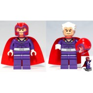 LEGO Super Heroes X-men Minifigures - Magneto (76022) with Flying Deck