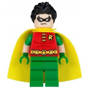LEGO Batman Minifigures - Robin - Short Sleeves, Spiky Hair (76035)