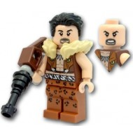 LEGO Super Hero Minifigures - Kraven The Hunter (76057) WITHOUT Weapon