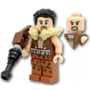 LEGO Super Hero Minifigures - Kraven The Hunter (76057) with Weapon