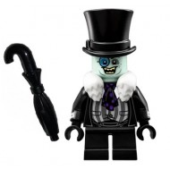 LEGO Super Heroes Minifigures - The Penguin - White Fur Collar