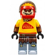 LEGO Super Heroes Minifigures - Scarecrow, Pizza Delivery Outfit