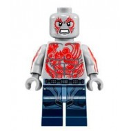 LEGO Super Heroes Minifigures - Drax - Jet Pack (76081) with double knifes