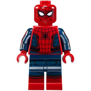 LEGO Super Heroes Minifigures - Spider-Man - Black Web Pattern, Red Torso Small Vest, Red Boots