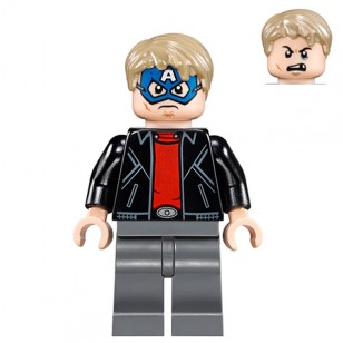 LEGO Super Heroes Minifigures - Blue Masked Robber