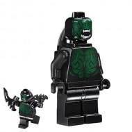 LEGO Super Heroes Minifigures - Berserker - Thor Ragnarok (76084) with weapon