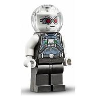 LEGO Super Heroes Minifigures - Mr. Freeze, Pearl Dark Gray