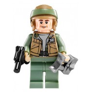LEGO Star Wars Minifigures - Rebel Commando - Dark Tan Vest