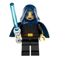 Barriss Offee - Dark Blue Cape and Hood
