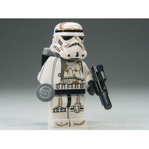 LEGO Star Wars Minifigures - Stormtrooper (Tatooine) with White Pauldron