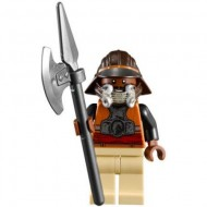 LEGO Star Wars Minifigures -Lando Calrissian - Skiff Guard, Tan Hips