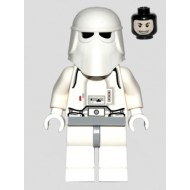 LEGO Star Wars Minifigures - Snowtrooper, Light Bluish Gray Hips, White Hands, Printed Head