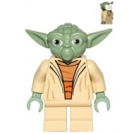 LEGO Star Wars Minifigures - Yoda (Clone Wars, White Hair)