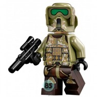 LEGO Star Wars Minifigures - 41st Elite Corps Trooper w. Gun