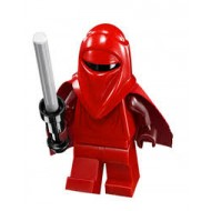 LEGO Star Wars Minifigures - Royal Guard with Dark Red Arms and Hands w. Gun