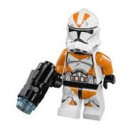 LEGO Star Wars Minifigures - 212th Battalion Trooper w. Gun