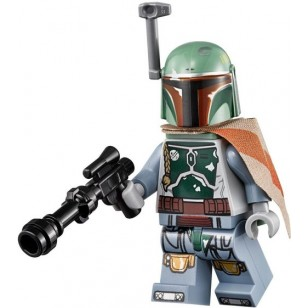 LEGO Star Wars Minifigures - Boba Fett (75137) with weapon