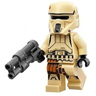 LEGO Star Wars Minifigures - Scarif Stormtrooper (75171) with weapon
