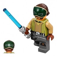 LEGO Star Wars Minifigures - Kanan Jarrus with eye mask (75170) with weapon