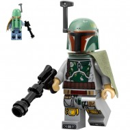 LEGO Star Wars Minifigures - Boba Fett (75174) with weapon