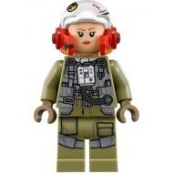 LEGO Star Wars Minifigures -A-Wing Pilot (Tallissan 'Tallie' Lintra)