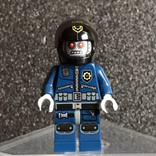 LEGO The LEGO Movie Minifigures - Robo SWAT with Helmet